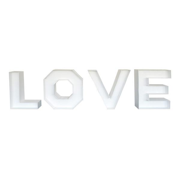 LOVE letters zonder verlichting 1 m.