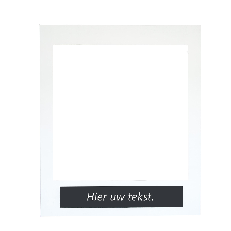 Photobooth polaroid - Feestmateriaalverhuur